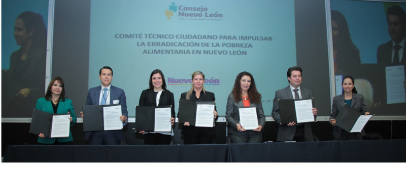 Firma para crear comité dedicado a erradicar la pobreza extrema alimentaria